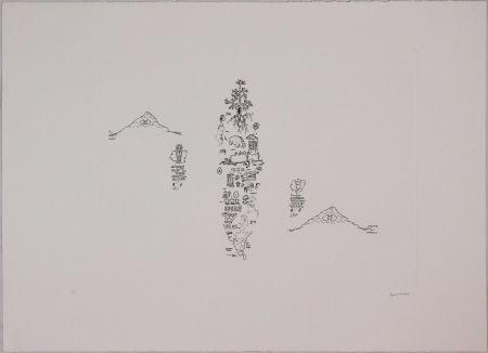 Aguafuerte Baruchello - Untitled