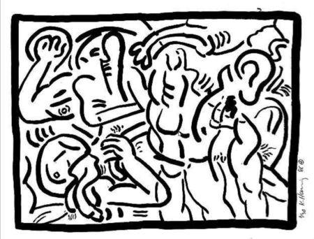 Múltiple Haring - Untitled