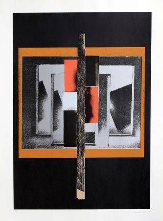 Serigrafía Nevelson - Untitled