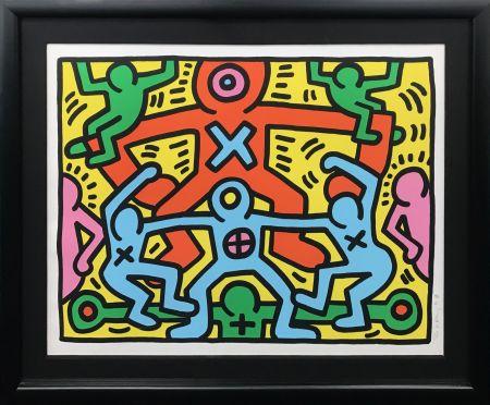 Serigrafía Haring - UNTITLED