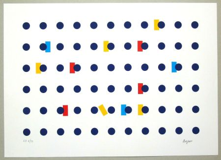 Serigrafía Agam - Untitled