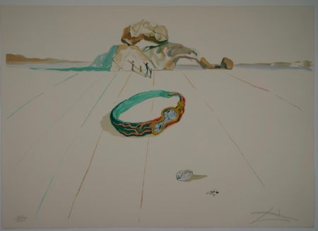 Litografía Dali - Untitled