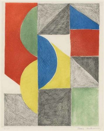 Aguafuerte Y Aguatinta Delaunay - Untitled