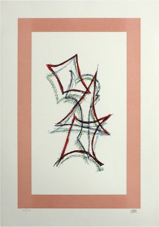 Litografía Ray - Untitled