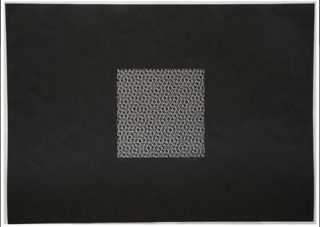 Serigrafía Morellet - Untitled