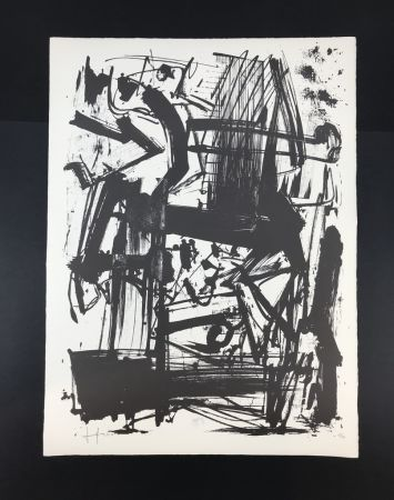 Litografía Vedova - Untitled