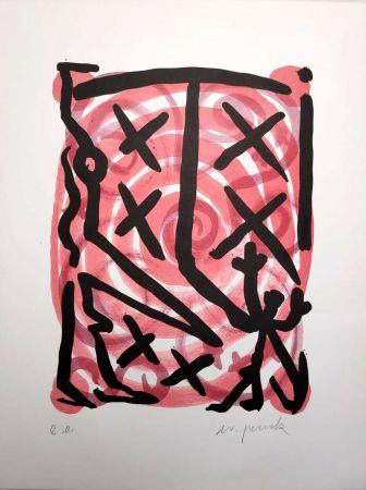 Litografía Penck - Untitled