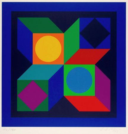 Múltiple Vasarely - Untitled