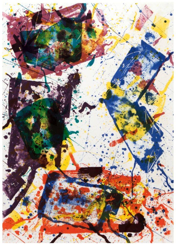 Litografía Francis - Untitled 1982
