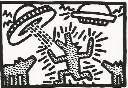 Litografía Haring - Untitled 4