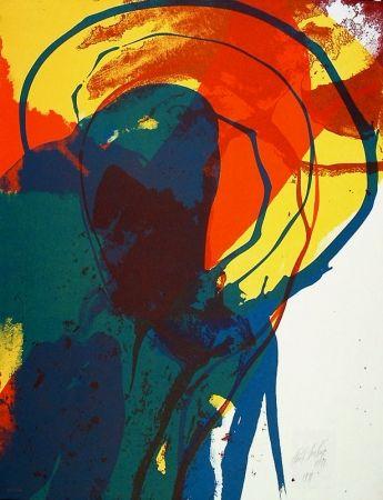 Litografía Jenkins - Untitled abstraction