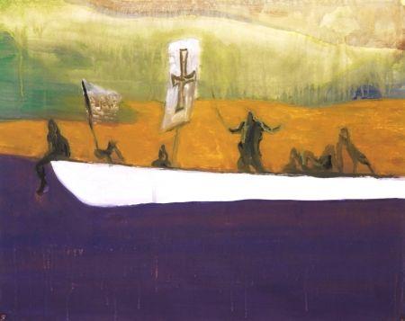 Aguatinta Doig - Untitled (Canoe)