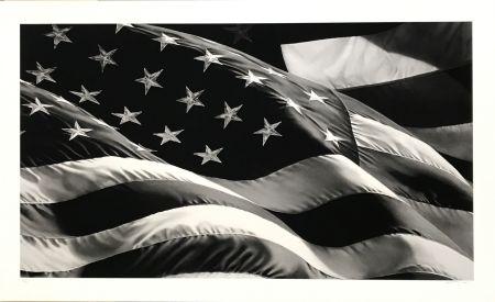 Serigrafía Longo - Untitled (Flag)
