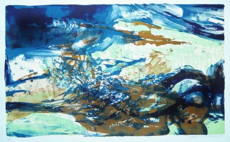 Litografía Zao - Untitled (from: A la gloire de l'image)