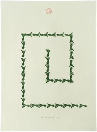 Litografía Long - Untitled (from Artists Against Torture portfolio)