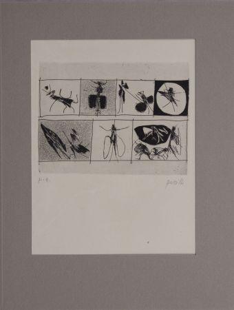 Aguafuerte Perilli - Untitled from 'Avanguardia internazionale', vol. 4