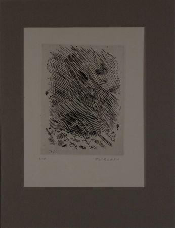 Aguafuerte Turcato - Untitled from 'Avanguardia internazionale', vol. 4