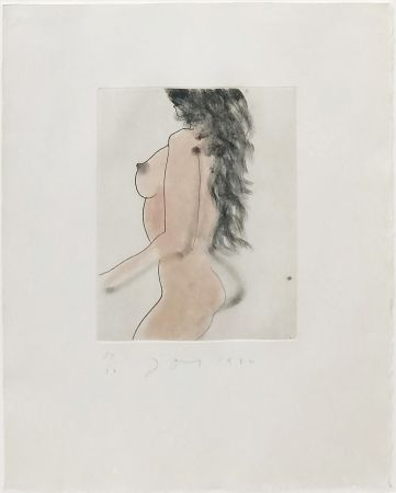 Aguafuerte Y Aguatinta Dine - UNTITLED (FROM EIGHT LITTLE NUDES)