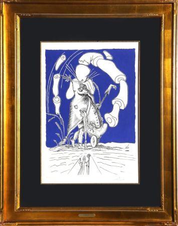 Litografía Dali - Untitled from Les Songes Drolatiques de Panatagruel
