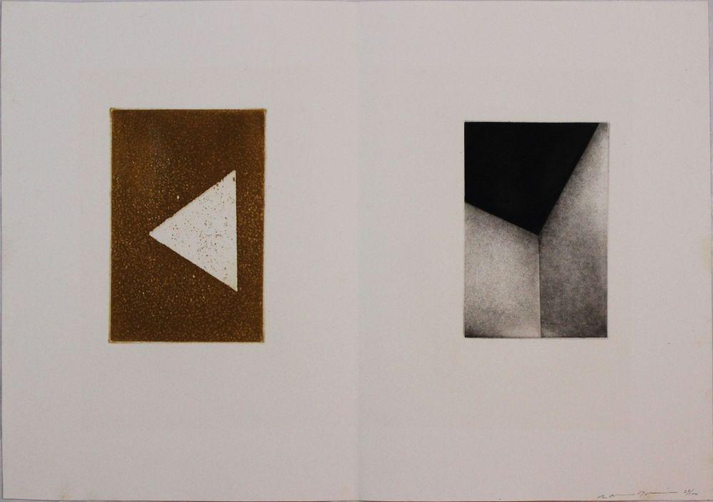 Aguafuerte Y Aguatinta Gibson - Untitled from 'Metafora' portfolio