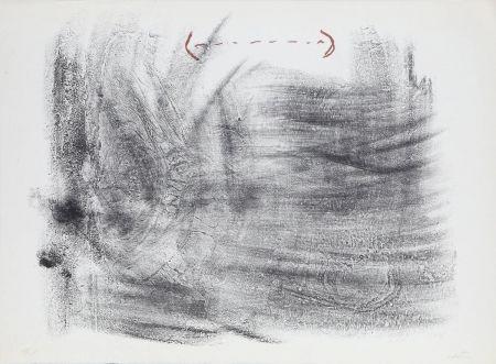 Litografía Tàpies - Untitled from St. Gallen