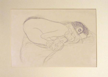 Litografía Klimt - Untitled I.III
