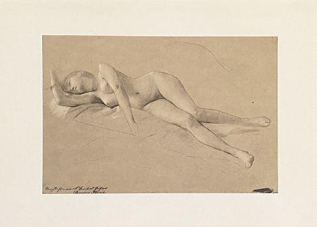 Litografía Klimt - Untitled II.XIII