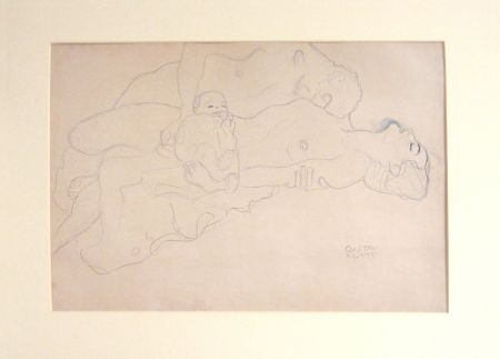 Litografía Klimt - Untitled IV