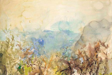 Sin Técnico Zao - Untitled Landscape 1985