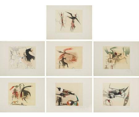 Aguafuerte Y Aguatinta Lam - Untitled Suite (TR 7901-7907)