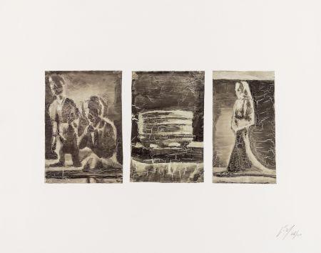 Offset Tuymans - Untitled (Triptych)