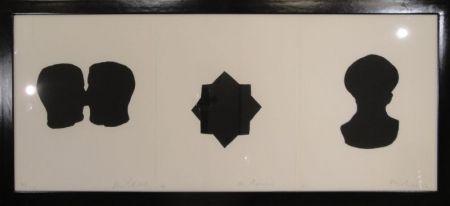Grabado Blais - Untitled triptych