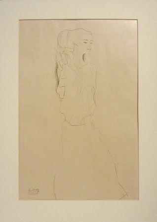 Litografía Klimt - Untitled VI