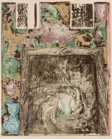 Litografía Johns - Unttitled