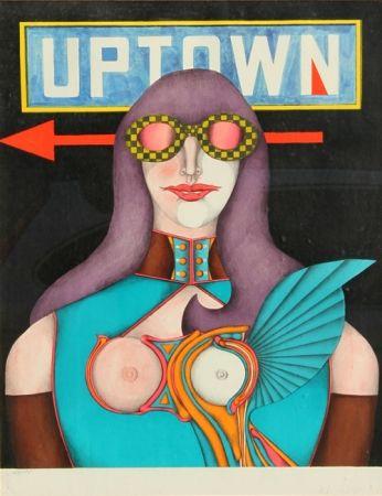 Litografía Lindner - Uptown