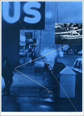 Serigrafía Monory - Usa 76 - Bateau.