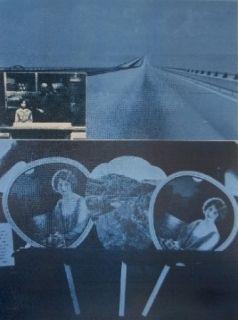 Serigrafía Monory - Usa 76 - Road