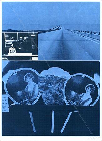 Serigrafía Monory - Usa 76 - Road.