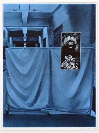 Serigrafía Monory - Usa 76 - Singe