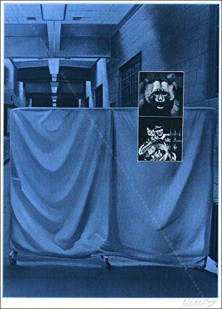 Serigrafía Monory - Usa 76 - Singes.