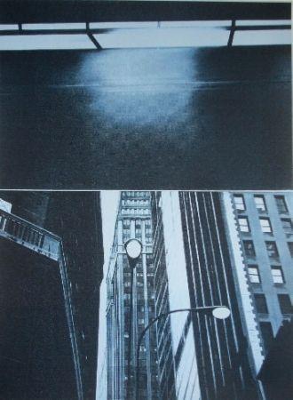 Serigrafía Monory - Usa 76 - Skyscrapers