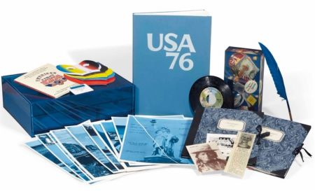 Libro Ilustrado Monory - Usa 76. Bicentenaire Kit.