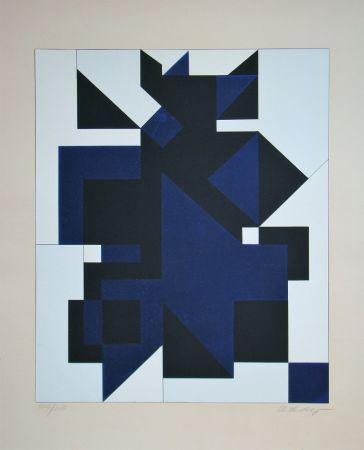 Serigrafía Vasarely - Utica