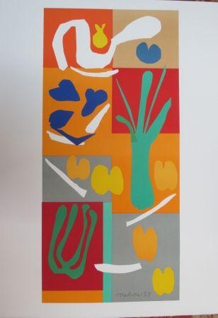 Litografía Matisse - Végétaux