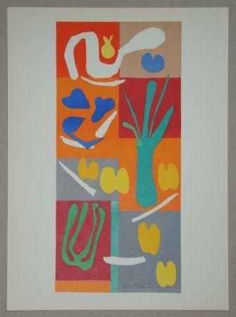 Litografía Matisse - Végétaux, 1952