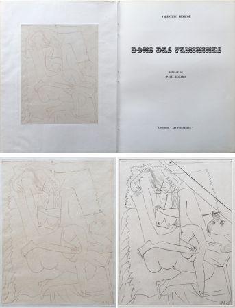 Libro Ilustrado Picasso - Valentine Penrose : DONS DES FÉMINIES (1951). 1 des 50 avec une eau-forte en 2 états.