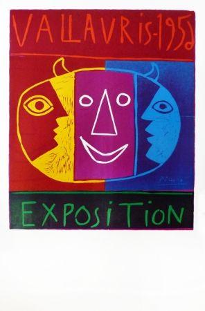 Linograbado Picasso - Vallauris 1956
