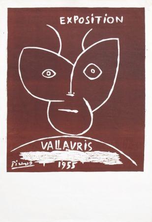 Linograbado Picasso - Vallauris 55