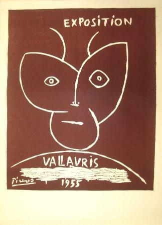 Linograbado Picasso - Vallauris Exhibition