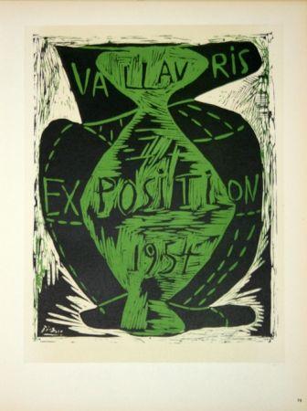 Litografía Picasso - Vallauris Exposition 1954